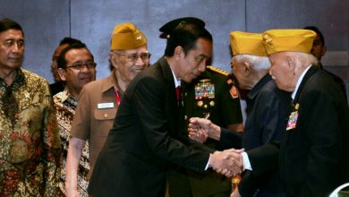 Photo of Presiden Jokowi : Perjuangan Veteran Sumber Semangat Bangsa