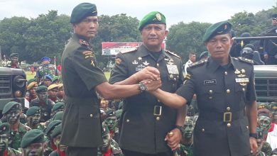 Photo of Agus SB Pimpin Sertijab Pejabat Raider Linud 700