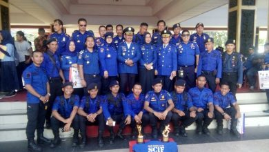 Photo of Tim Damkar Sulsel Juara Umum Nasional