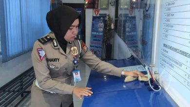 Photo of Antisipasi Covid-19, Satlantas Polres Gowa Giat Korvey dan Sediakan Anti Septik